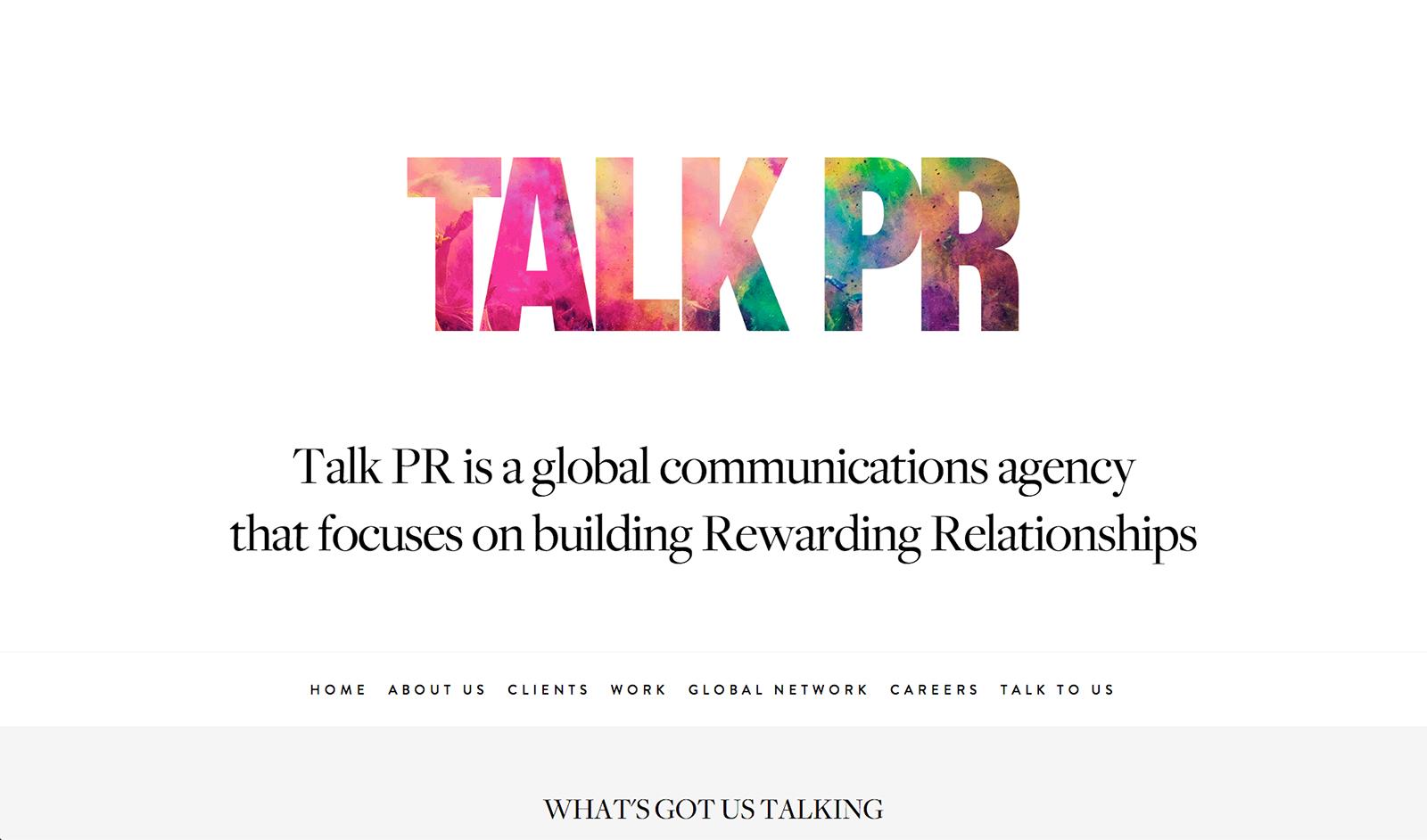 Talk PR