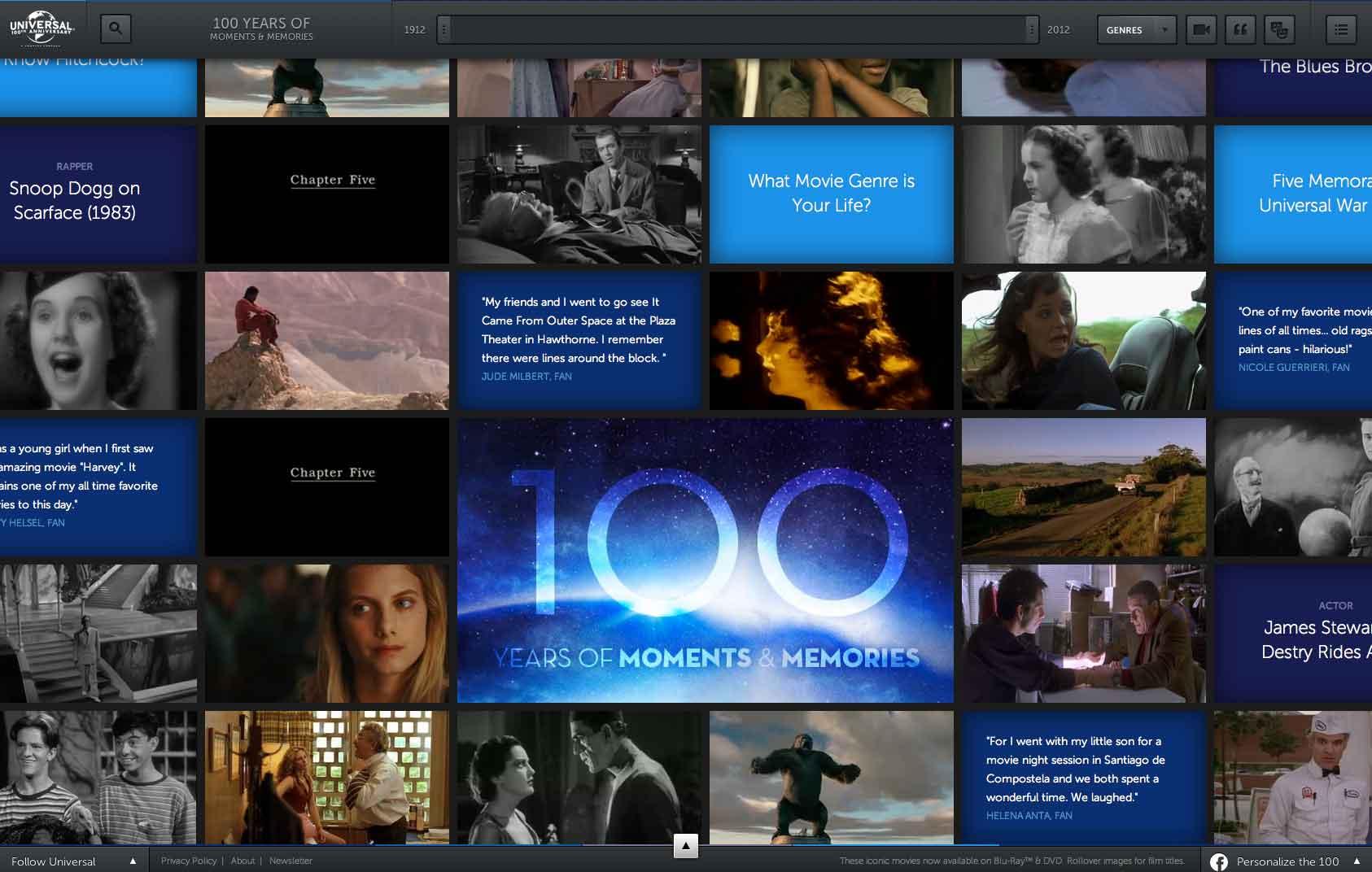 Universal 100th