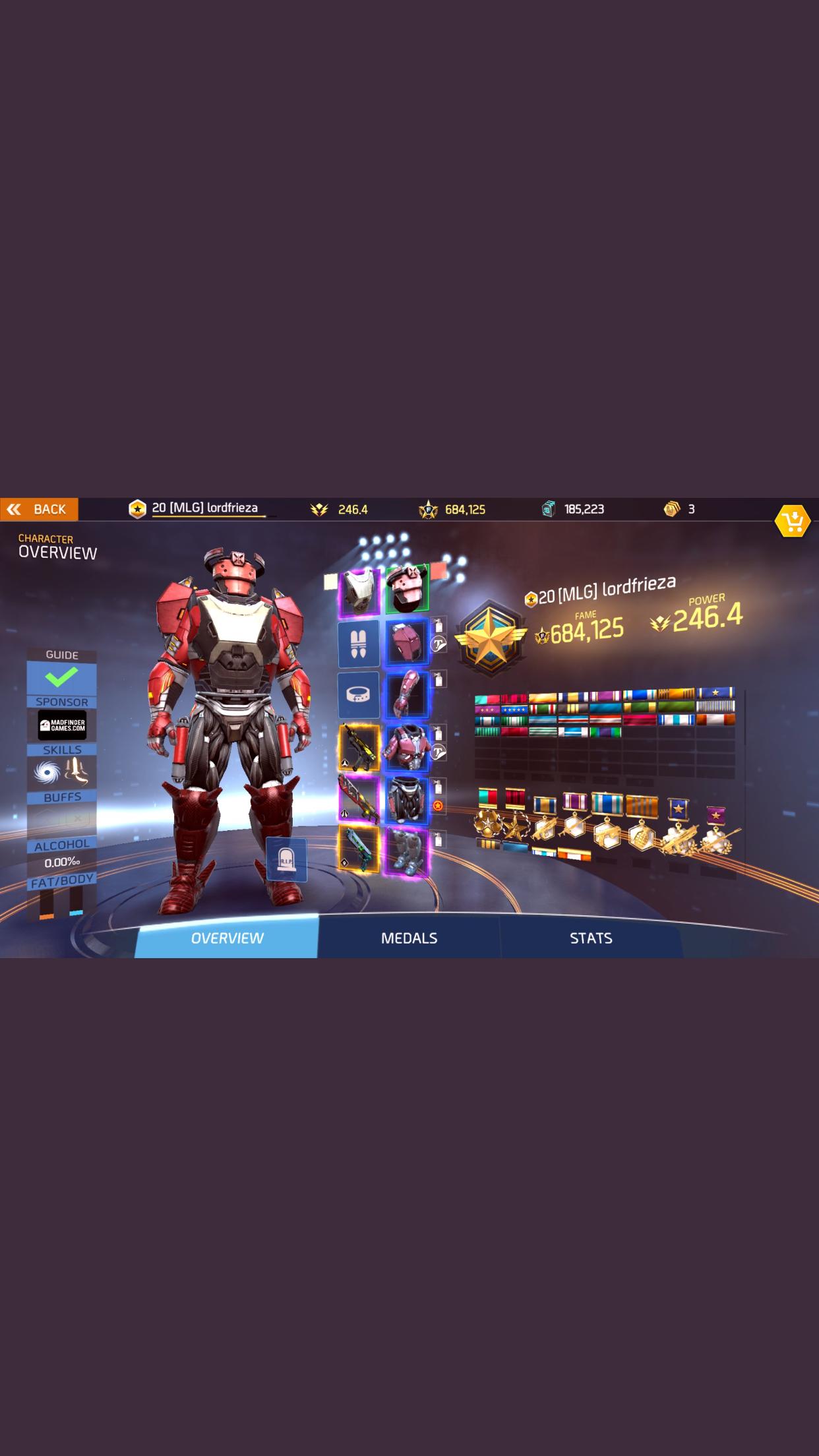 Shadowgun Legends armors Preview 1