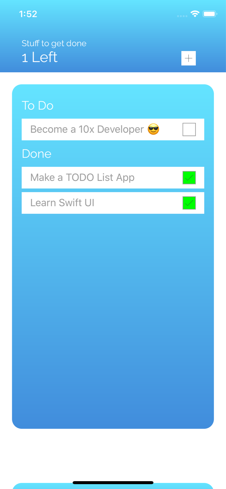 Todo List App Preview 0