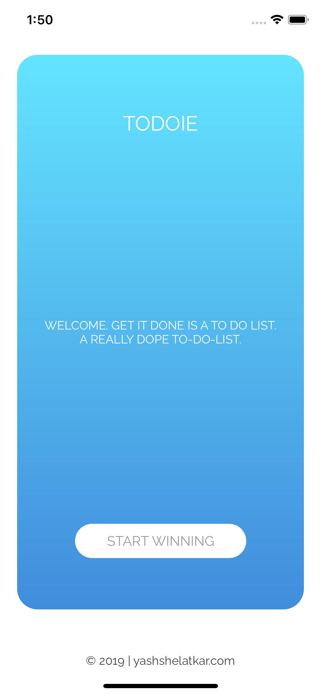Todo List App Preview 2