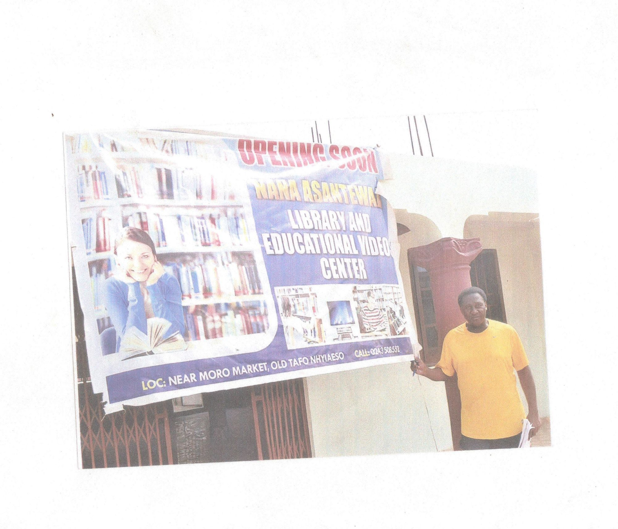 NANA ASANTEWAAH LIBRARY AND EDUCATIONAL VIDEOS CENTER Preview 1