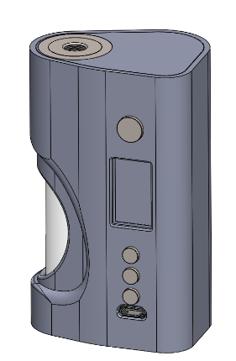 Carbon Fiber SS Squonker Vape Mod  Preview 2