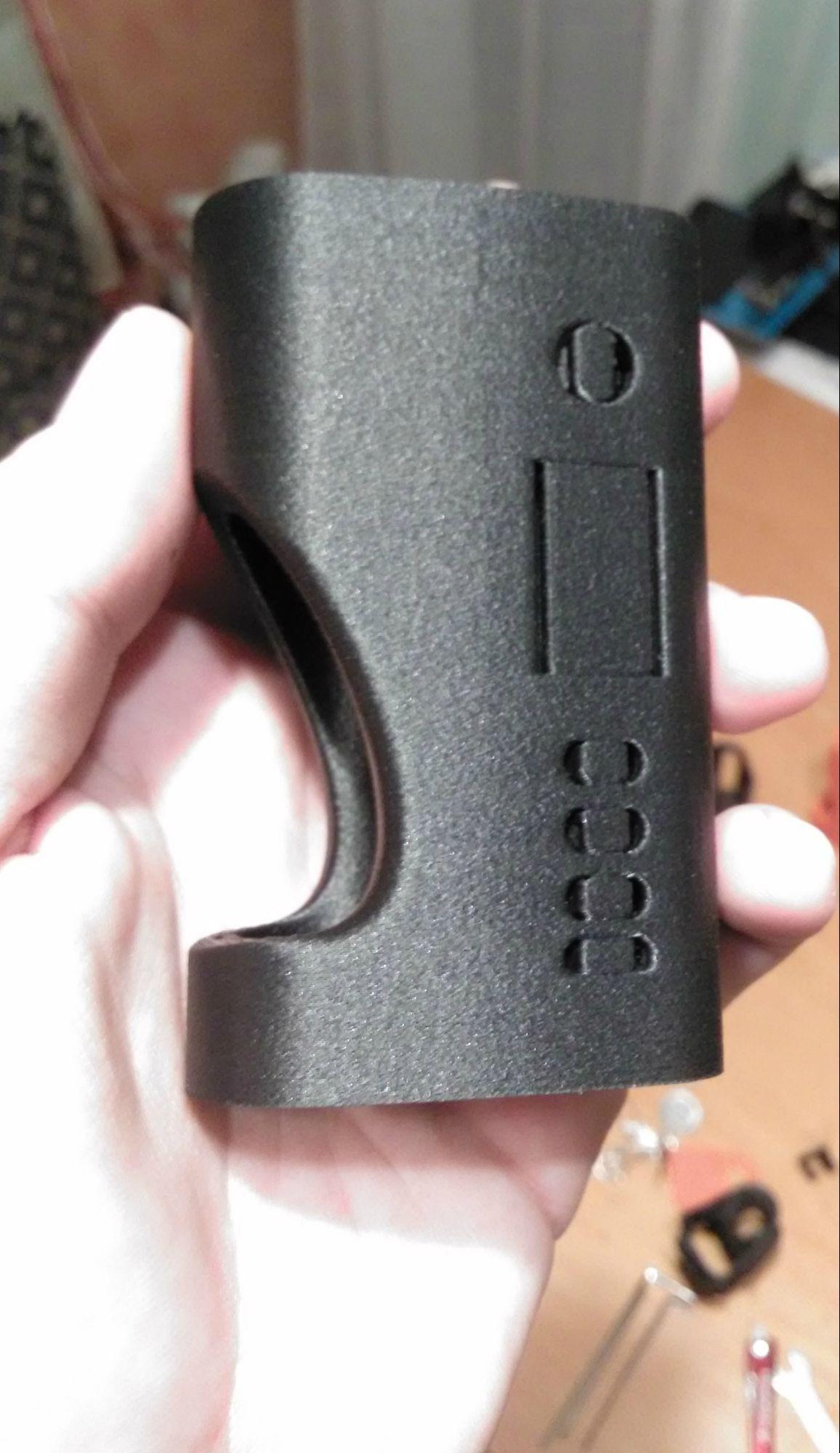 Carbon Fiber SS Squonker Vape Mod  Preview 0