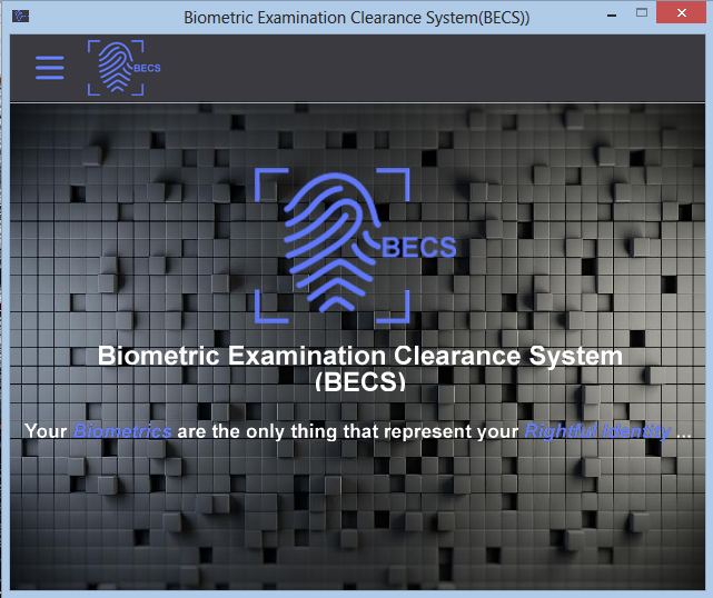 Biometrics Examination Clearance System (BECS) Preview 0