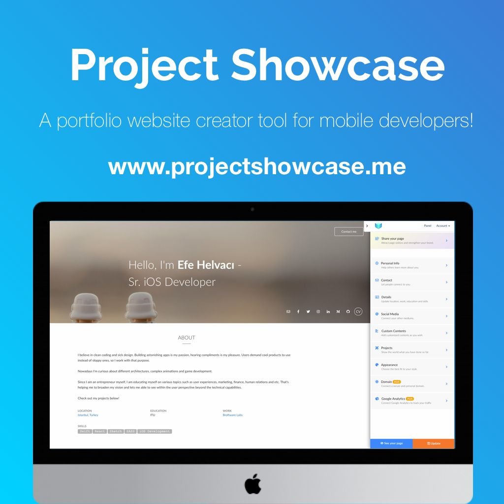 Project Showcase Preview 0