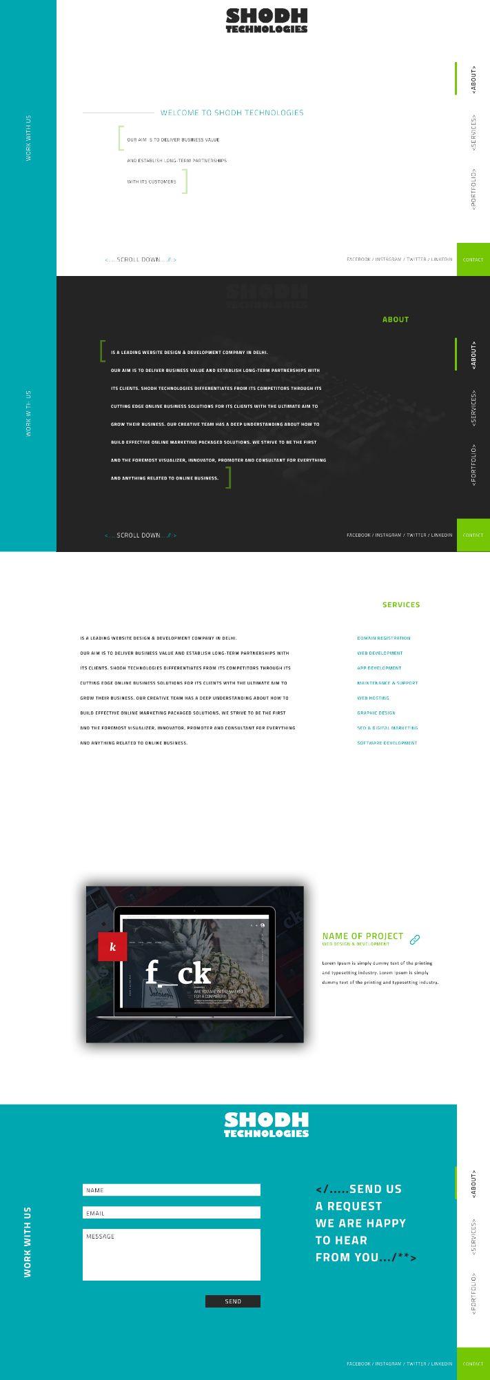 Website Design (UI) Preview 0