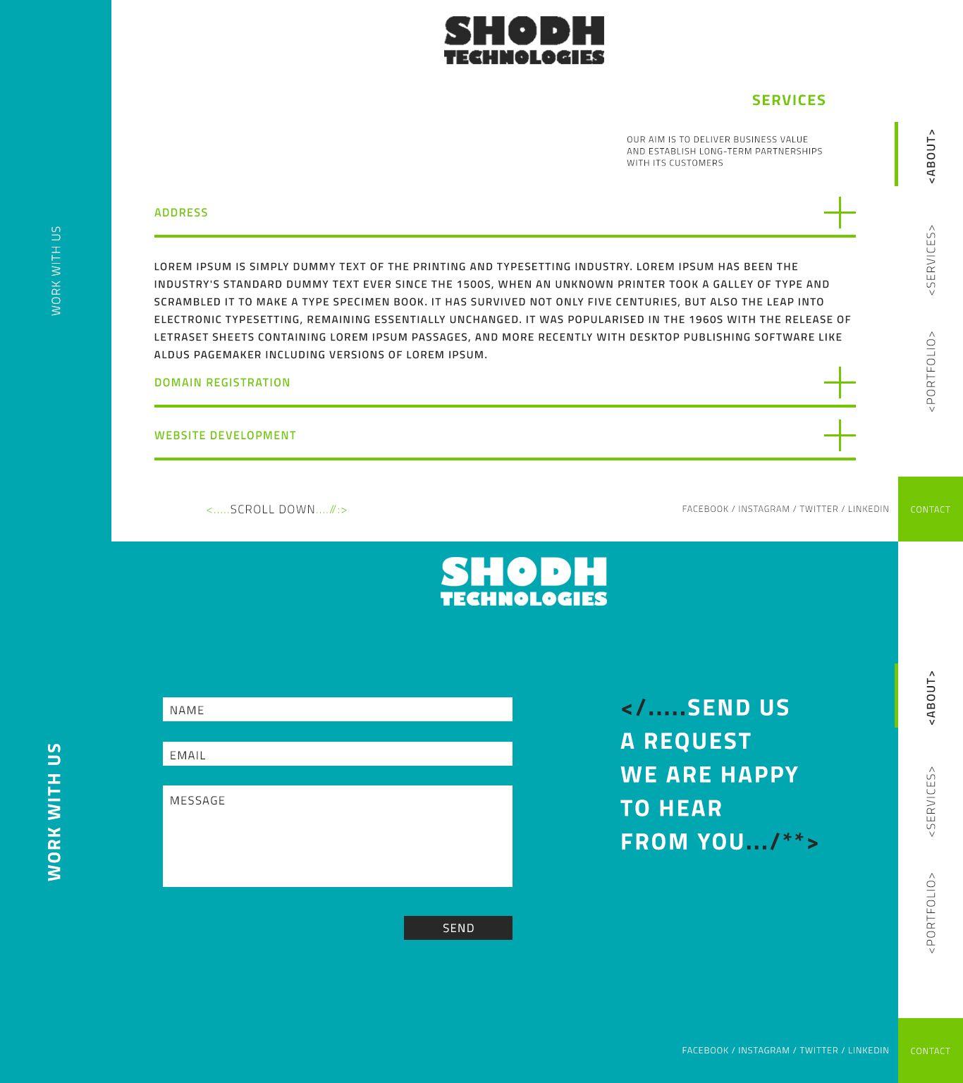 Website Design (UI) Preview 2