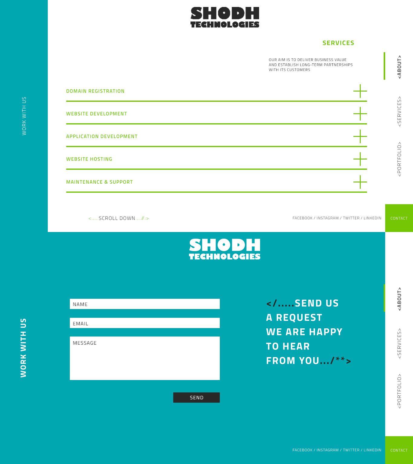 Website Design (UI) Preview 1
