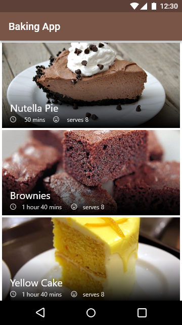 Baking App Preview 0