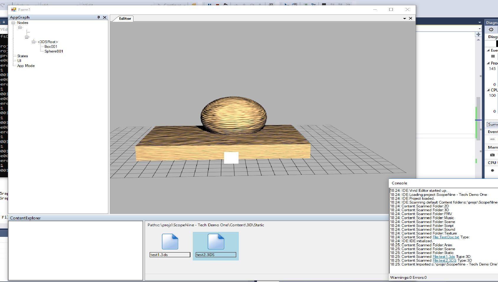 Vivid3D Graphics Engine Preview 1