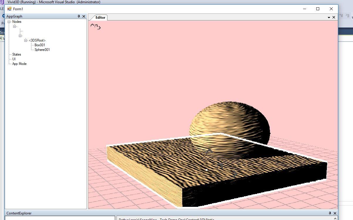 Vivid3D Graphics Engine Preview 0
