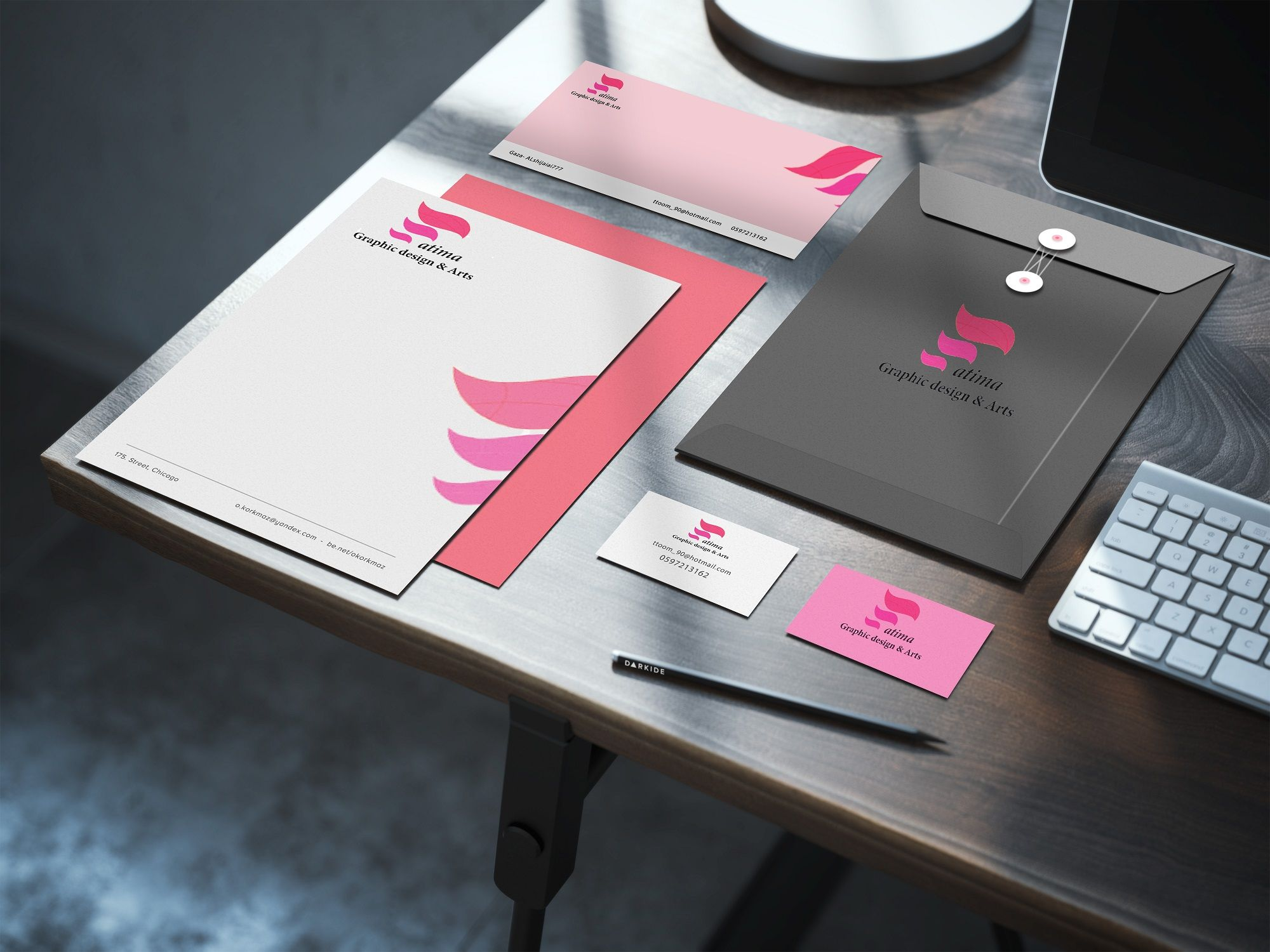 Identity/ Print design/ Brands/ UI/UX Design Preview 1