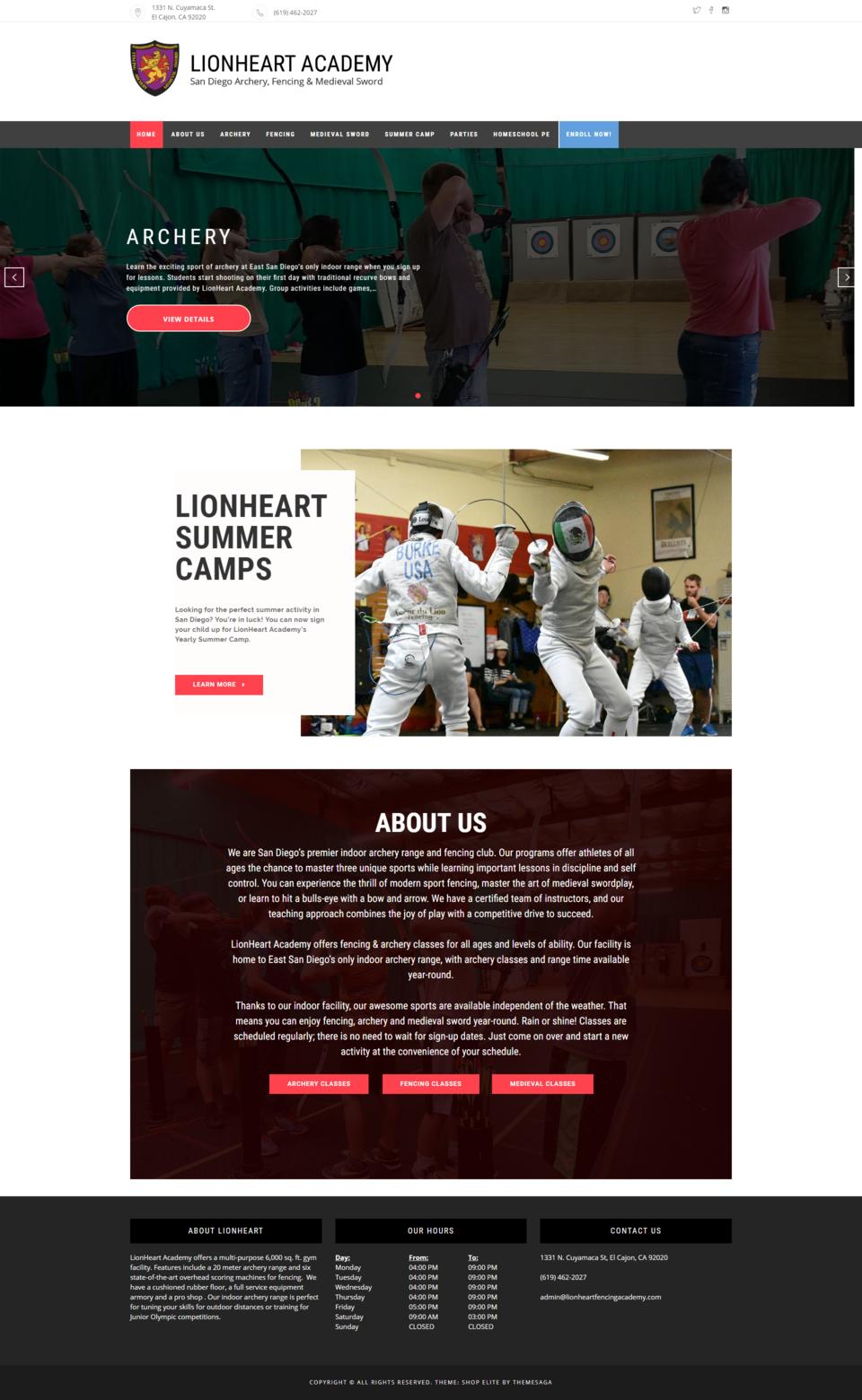 Lionheart Academy Preview 0
