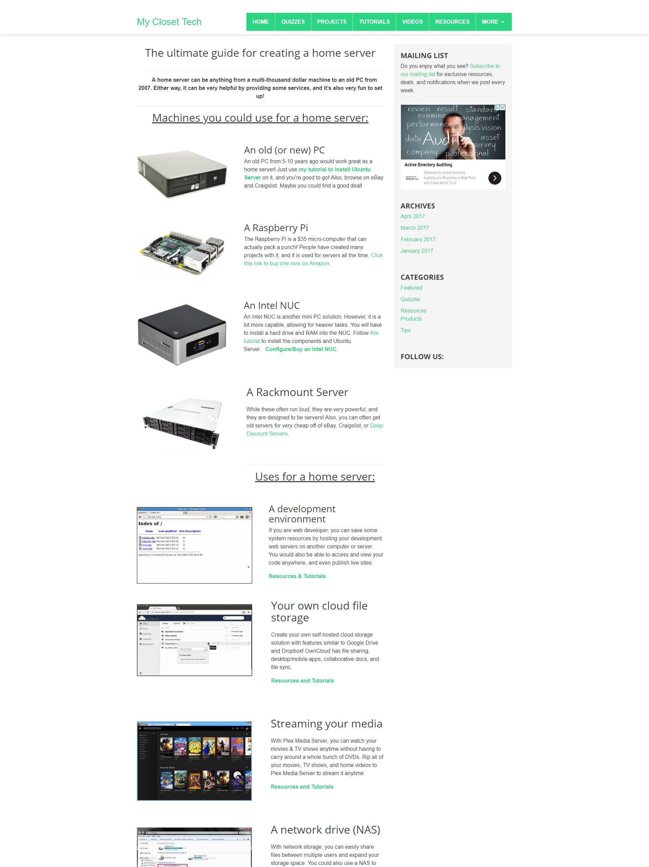 MyClosetTech Preview 1