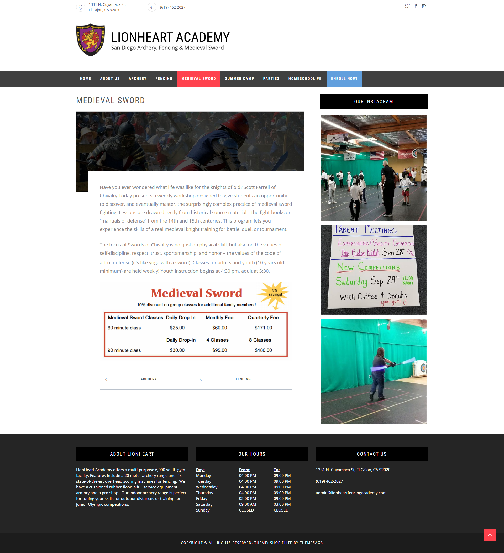 Lionheart Academy Preview 2