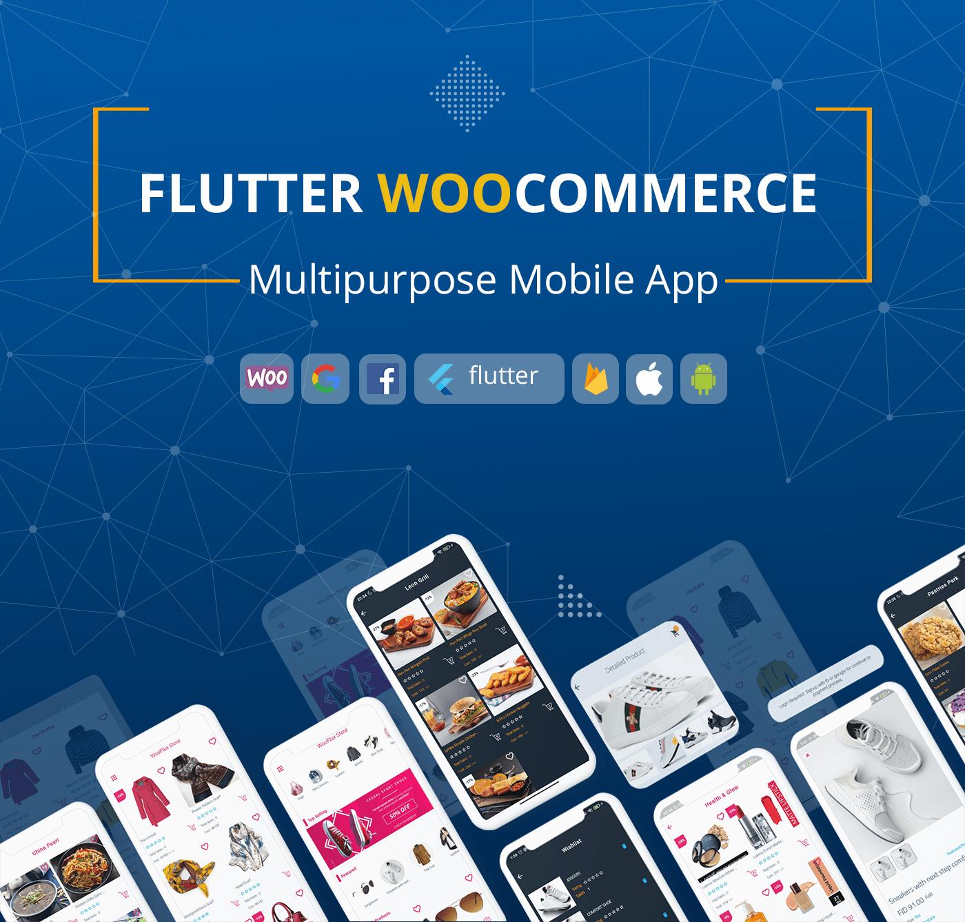 Flutter WooFlux Store