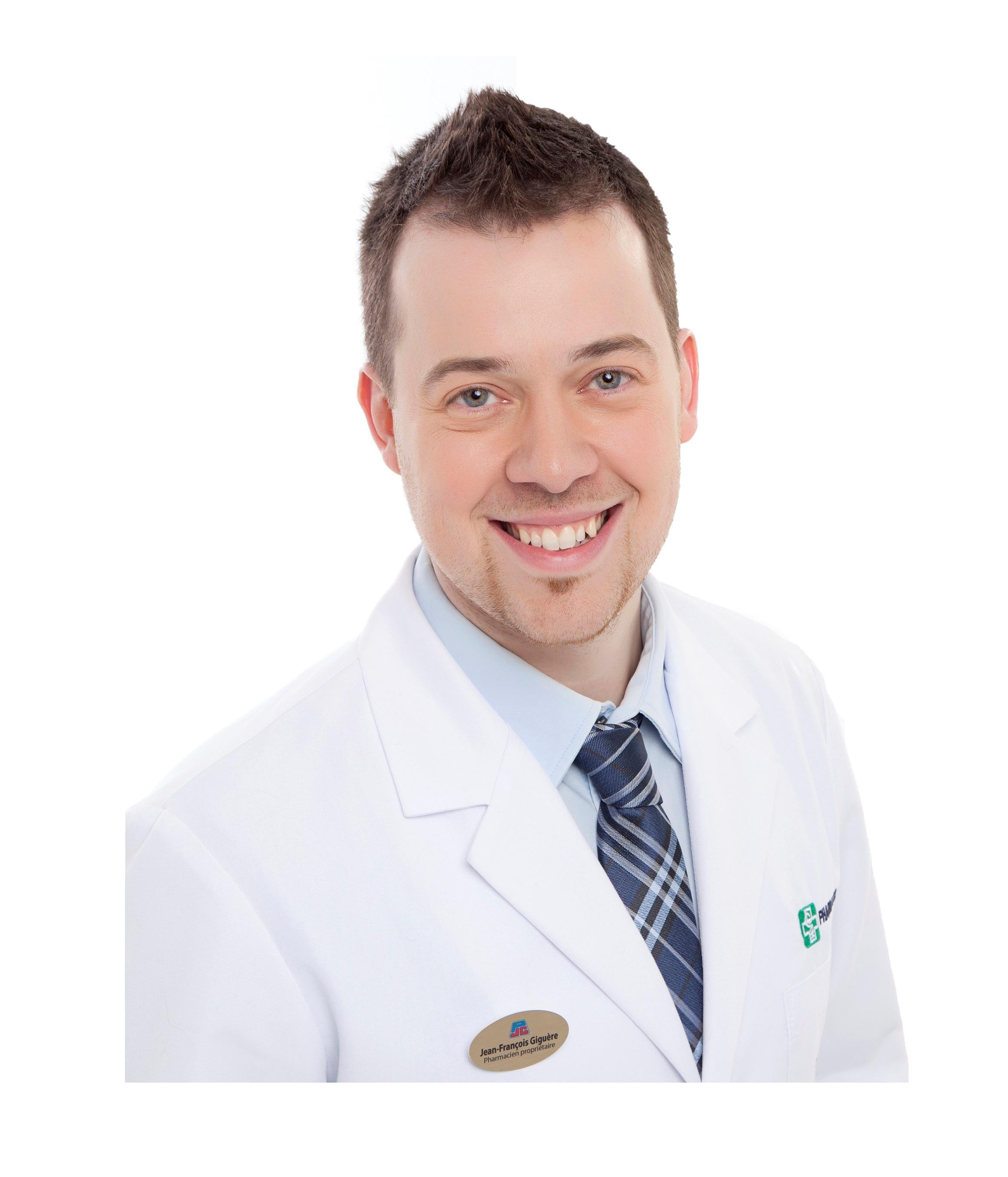 Jean-françois Giguère, Pharmacist