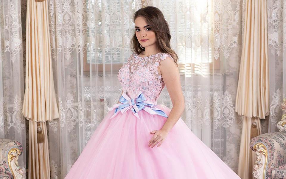 Rose Quinceañera Dresses