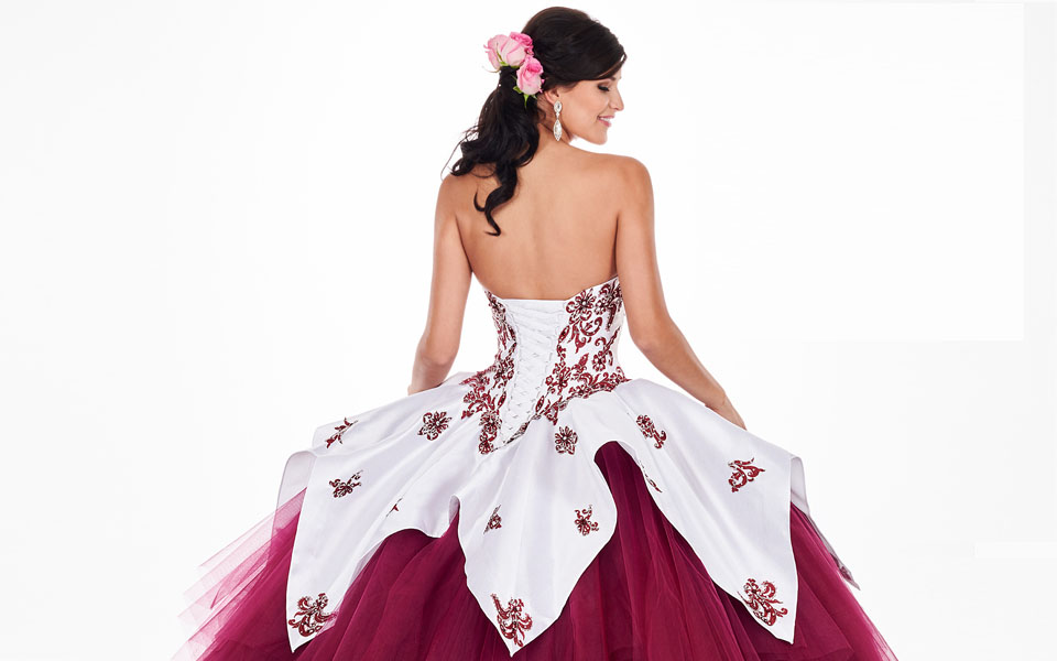 Mexican Style Quinceañera Dresses