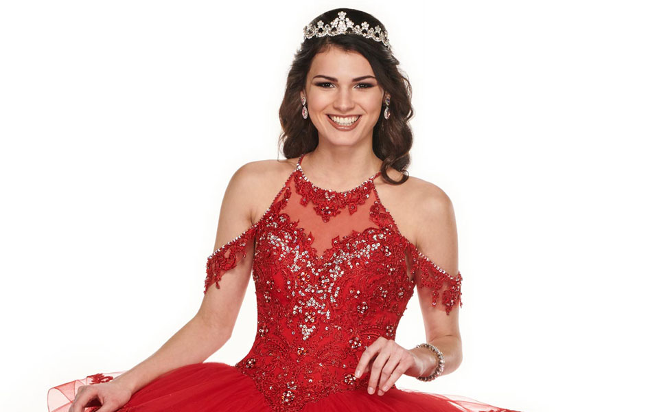 Red Quinceañera Dresses: the Center of the Party