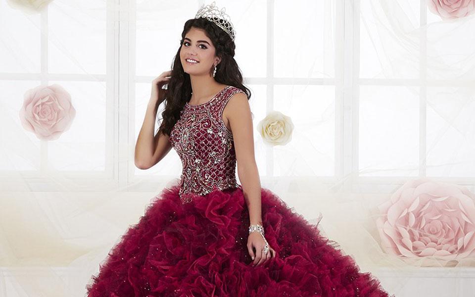 Puffy Quinceañera Dresses