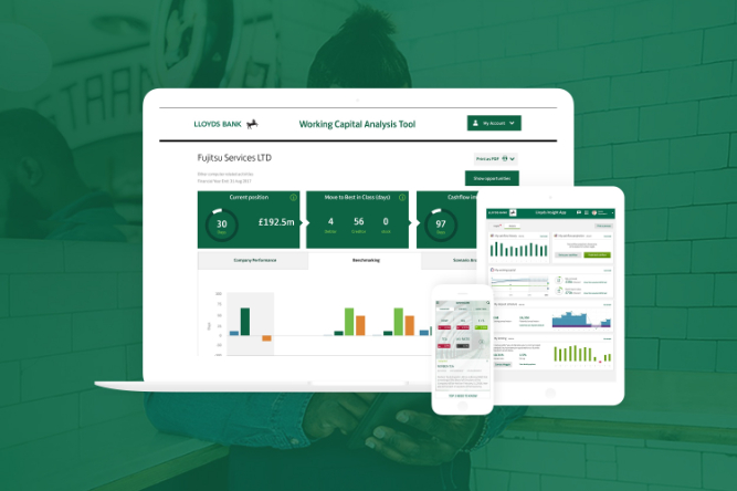 Lloyds Working Capital Management Tool