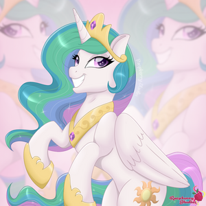 Princess Celestia Full Shading