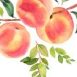 peaches and honey