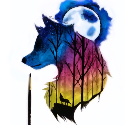 The Blue Wolf🐺🏳️🌈