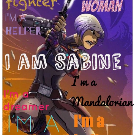 Star Wars Sabine!😛