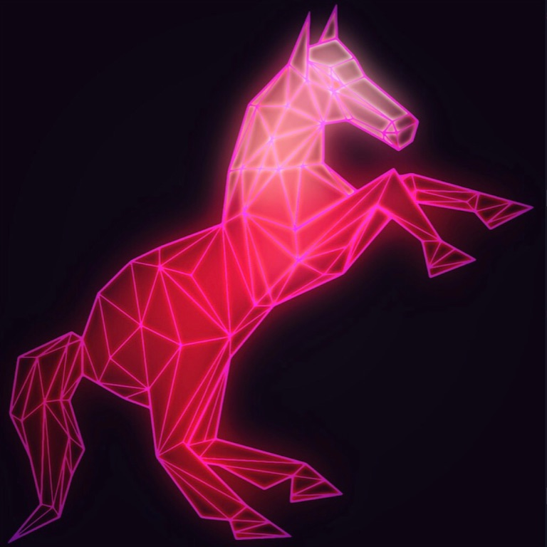 Neon Unicorn Queen