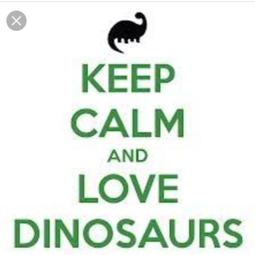 Dinosaurs rock❄️