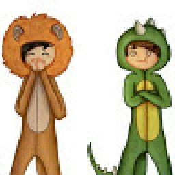 DinoDan&LionLester