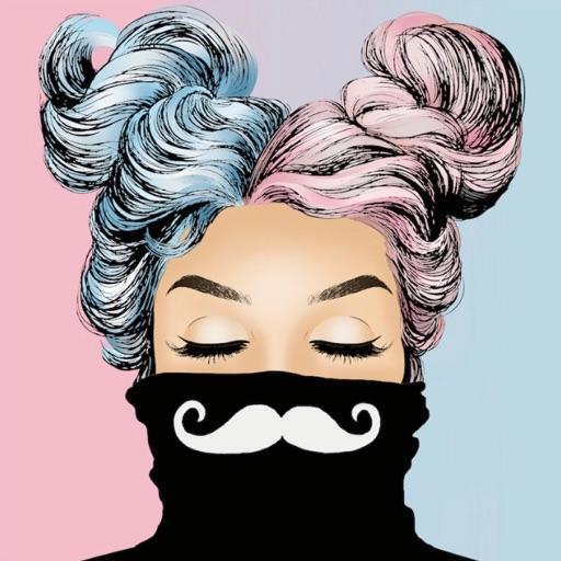 Galaxy Mustache