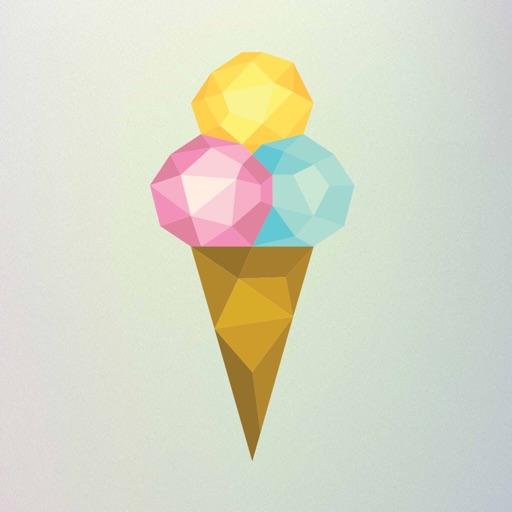 Iris ice cream
