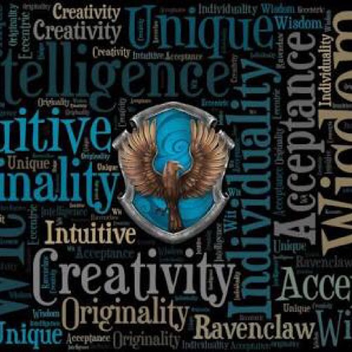Ravenclaw obsessed girl