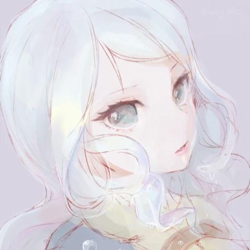 Artistic Kawaii Girl