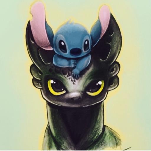 Toothless loves forever👿❤️