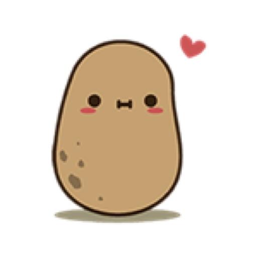 The happy potato
