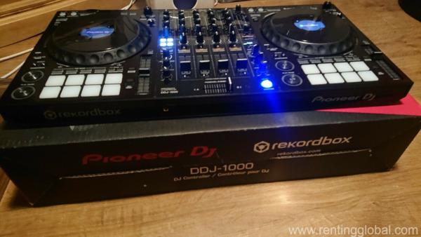 www.rentingglobal.com, renting, global, 42 Marine Parade, Southport QLD 4215, Australia, dj equipment, Brand New Pioneer DJ DDJ-1000 4 channel controller for rekordbox dj