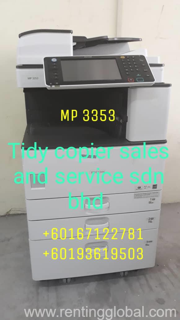 www.rentingglobal.com, renting, global, Petaling Jaya, Selangor, Malaysia, PHOTOCOPIER MACHINE MP 3353