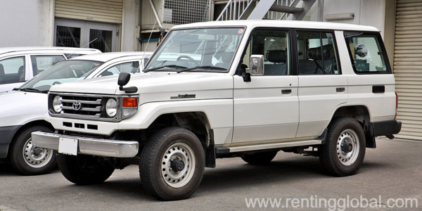 PETRA ARMORED LAND CRUISER 70 SERIES