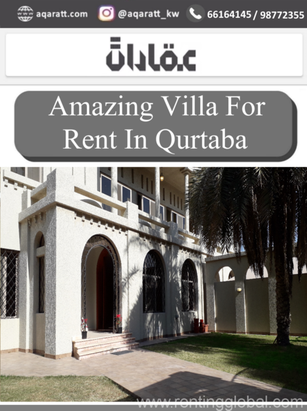 www.rentingglobal.com, renting, global, Qortuba, Kuwait, 000, Amazing  Villa For Rent In Qurtab