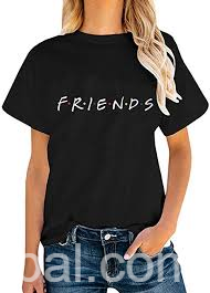 www.rentingglobal.com, renting, global, Ontario, CA, USA, buy247, Friends TV Show T-Shirts Womens Summer Casual Short Sleeve Tops Graphic Tees