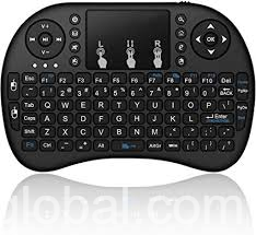 www.rentingglobal.com, renting, global, Ontario, CA, USA, 2.4GHz Wireless Mini Handheld Remote Keyboard with Touchpad