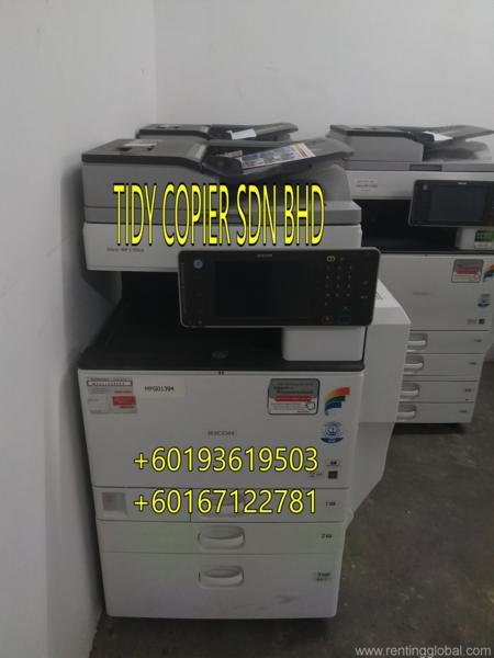 www.rentingglobal.com, renting, global, Petaling Jaya, Selangor, Malaysia, printer,scanner, FULL COLOR RICOH MPC 5502
