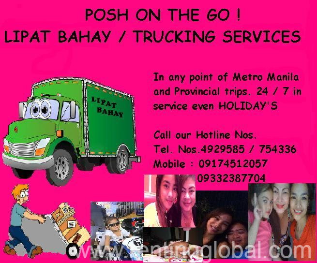 www.rentingglobal.com, renting, global, Pasig, Metro Manila, Philippines, lipat bahay,trucking,movers, POSH ON THE GO ! LIPAT BAHAY AND TRUCKING COMPANY