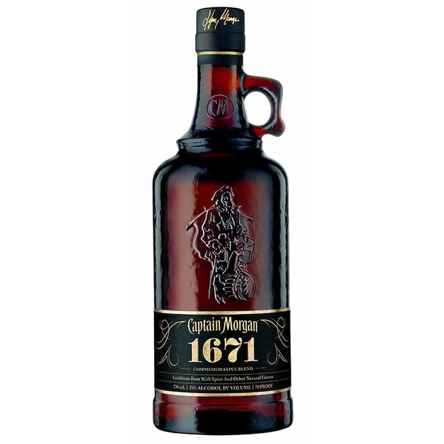 Bottle image of Captain Morgan 1671 Commemorative Blend
