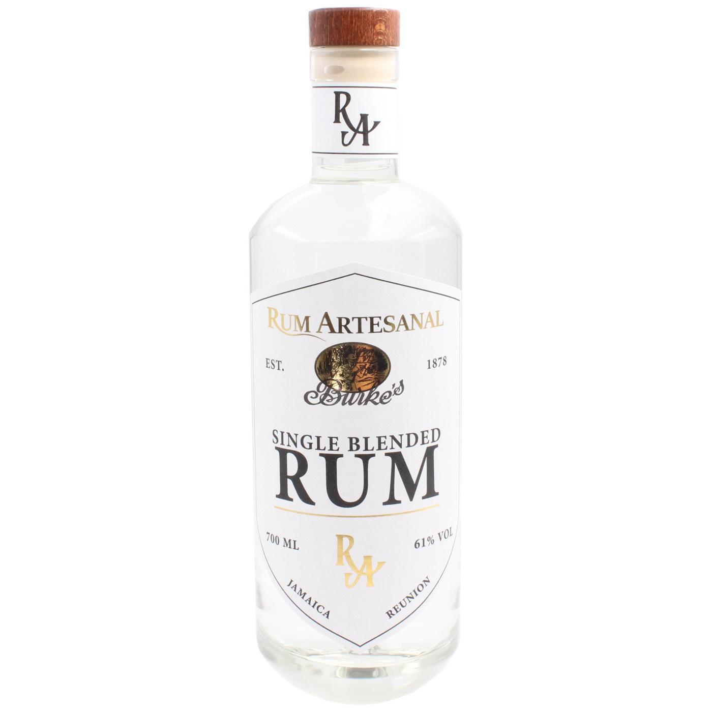 Bottle image of Rum Artesanal Burke's Single Blended Rum